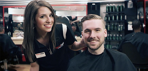Sport Clips Haircuts of Cambridge​ stylist hair cut